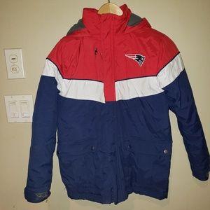 NFL team apparel youth small Patriots jacket